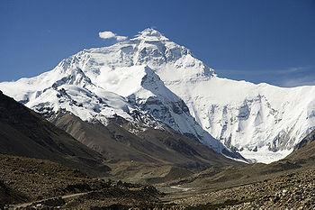 Dünyanın en yüksek dağı: Everest (8848 m)