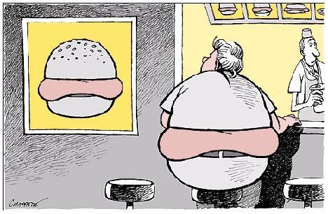 Şişmanlığın bu derece hızlı artmasının, obez nüfusun ciddi bir sorun haline gelmesinin en büyük nedeni insanların günlük kalori tüketimini ayarlayamaması.